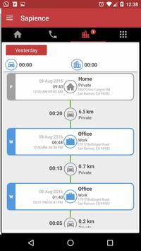 Auto Time Tracker - Sapience apk screenshot