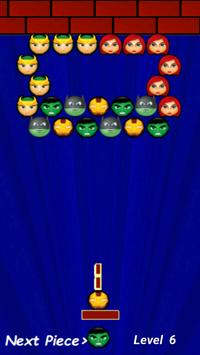 Bubble Superheroes apk screenshot