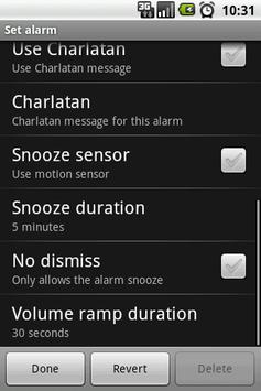 AlarmSolo screenshot 1