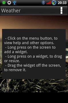 Widget Container screenshot 2