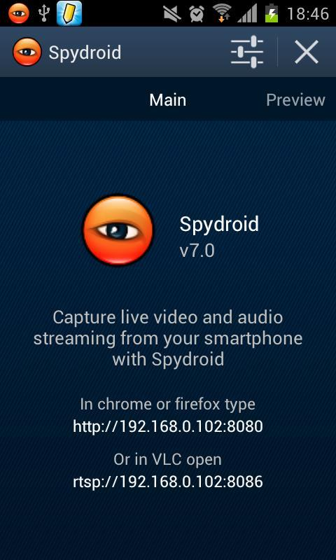 spydroid-ipcamera for Android - APK Download