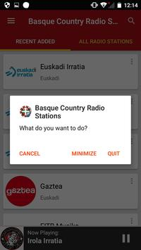 Basque Country Radio Stations apk screenshot