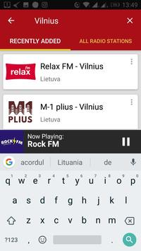 Lithuanian Radio Stations screenshot 3