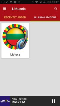 Lithuanian Radio Stations screenshot 2