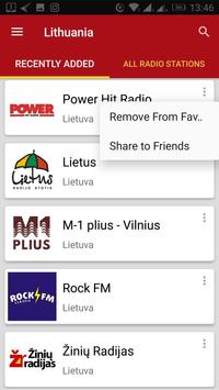 Lithuanian Radio Stations screenshot 4