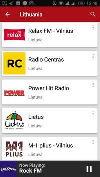 Lithuanian Radio Stations screenshot 5