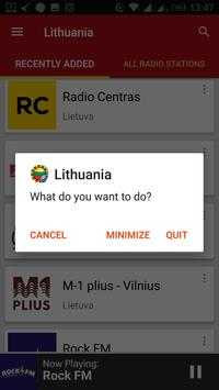 Lithuanian Radio Stations screenshot 6