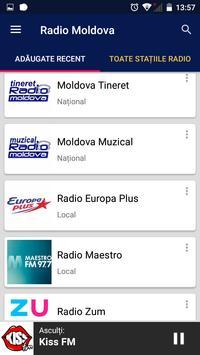 Radio Moldova screenshot 1