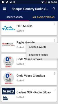 Basque Country Radio Stations apk screenshot