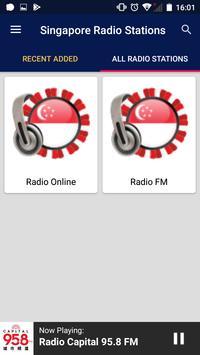 Singapore Radio Stations screenshot 3
