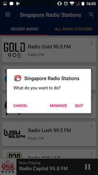 Singapore Radio Stations screenshot 7