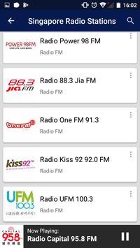 Singapore Radio Stations screenshot 6