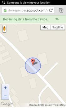 GPS Auto-Responder apk screenshot