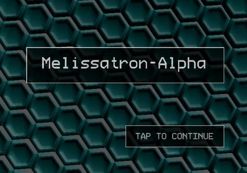Melissatron-Alpha poster