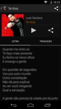Letras de Músicas تصوير الشاشة 2