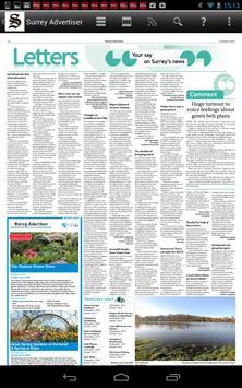 Surrey Advertiser Newspaper apk screenshot