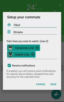 Commuters・Train delay&Weather screenshot 5