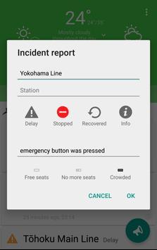 Commuters・Train delay&Weather screenshot 2