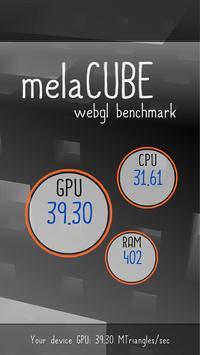 melaCUBE poster