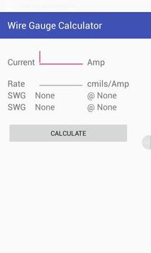 Wire gauge calculator apk download free tools app for android wire gauge calculator poster wire gauge calculator apk greentooth Gallery