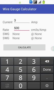 Wire gauge calculator apk download free tools app for android wire gauge calculator apk screenshot keyboard keysfo Choice Image