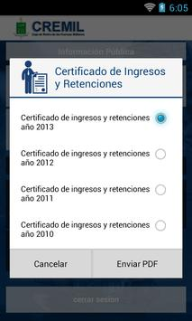Caja de Retiro de las FF. MM. apk screenshot