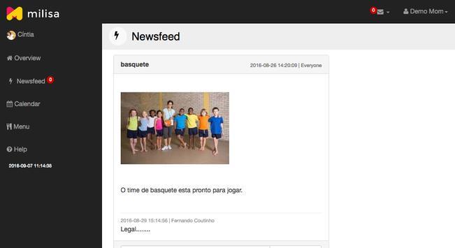 Milisa Tablet screenshot 1