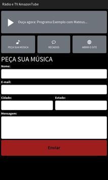 Rádio e TV AmazonTube screenshot 1