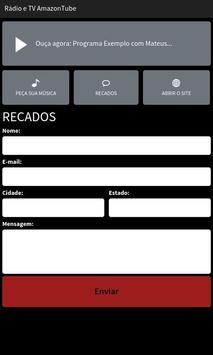 Rádio e TV AmazonTube screenshot 2
