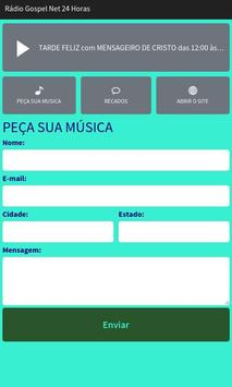 Rádio Gospel Net 24 Horas apk screenshot