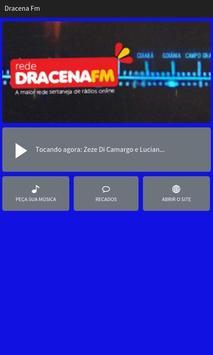 Dracena FM poster
