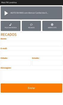 Mais FM Londrina apk screenshot