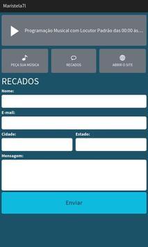 Maristela Rádio Web apk screenshot