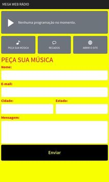 Mega Web Rádio screenshot 1