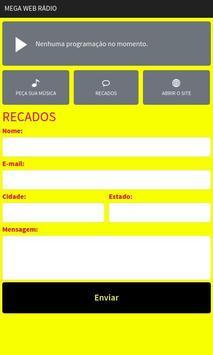 Mega Web Rádio screenshot 2