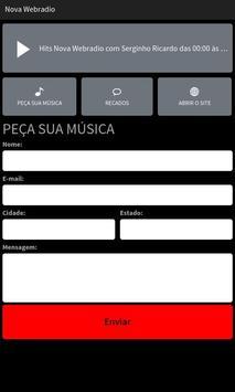 Nova Web Rádio apk screenshot