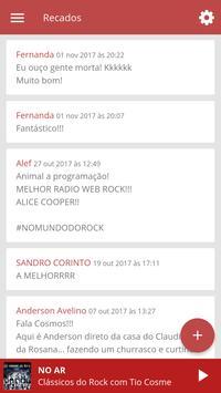 WEB RÁDIO NO MUNDO DO ROCK screenshot 4