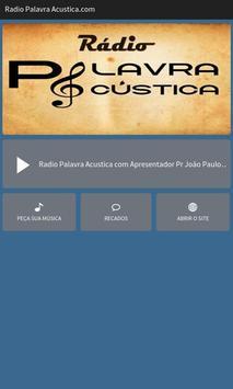 Rádio Palavra Acustica.com poster