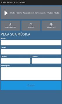 Rádio Palavra Acustica.com apk screenshot