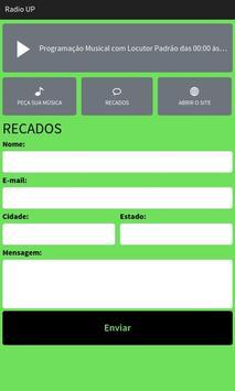 Portal Rádio UP apk screenshot