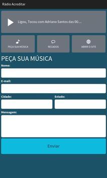 Rádio Acreditar screenshot 1