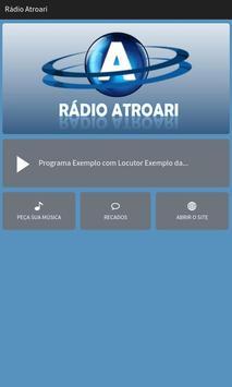 Rádio Atroari poster