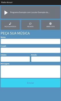 Rádio Atroari apk screenshot