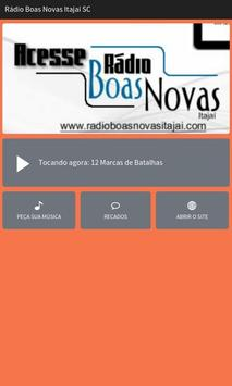 Rádio Boas Novas Itajaí SC poster