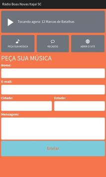 Rádio Boas Novas Itajaí SC screenshot 1