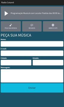 Rádio Cotamil screenshot 1