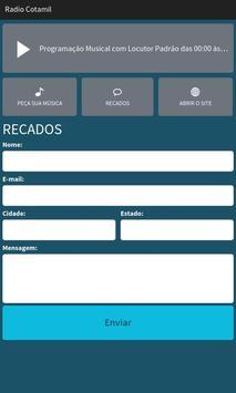 Rádio Cotamil screenshot 2
