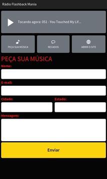 Rádio Flashback Mania apk screenshot