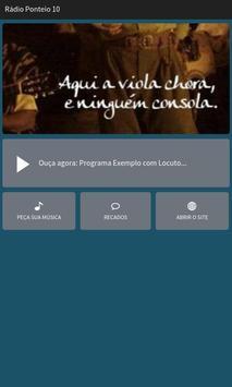 Rádio Ponteio 10 poster