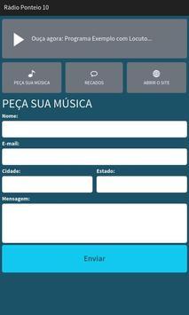 Rádio Ponteio 10 screenshot 1